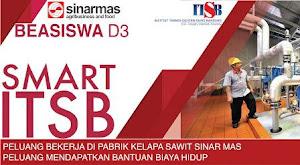 Beasiswa Ikatan Dinas D3 di ITSB oleh SMART