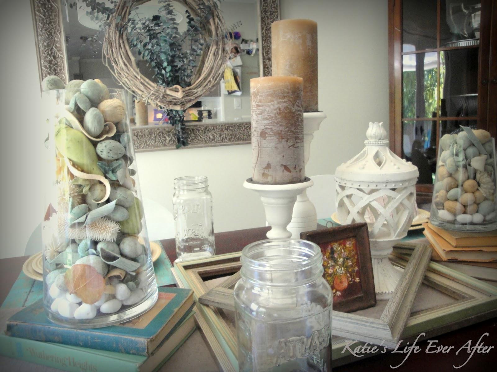Fall Table Decorating Ideas Aqua