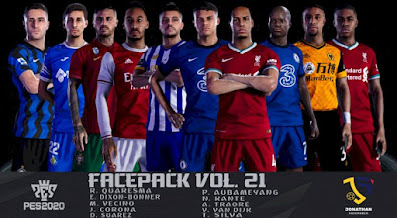 PES 2020 Facepack Vol 21 by Jonathan Facemaker
