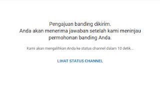 Cara Banding Video yang di Hapus Oleh YouTube