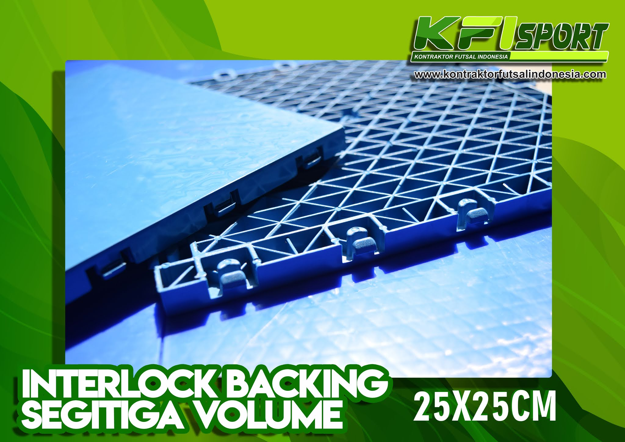 interlock futsal flooring segitiga