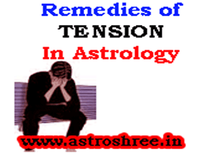 treatment of tension in jyotish