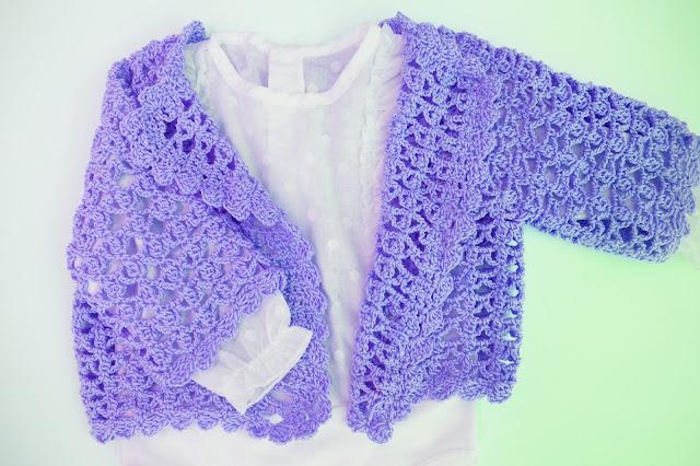 4 - Crochet Chaqueta de verano a crochet y ganchillo por Majovel Crochet