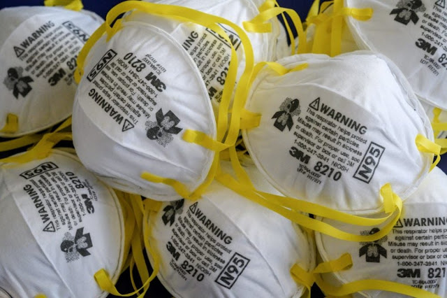 Netherlands recalls faulty masks imported from China