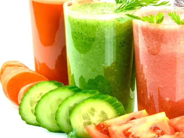 Gemüse zur Verbrennung von Bauchfett