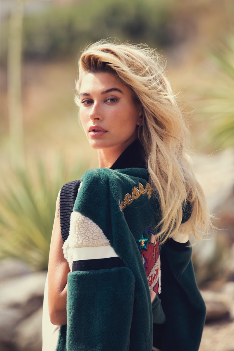 Guess Holiday 2016 Campaign featuring Hailey Baldwin