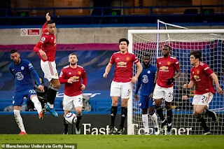 Carragher praised Manchester United's performance at Chelsea draw