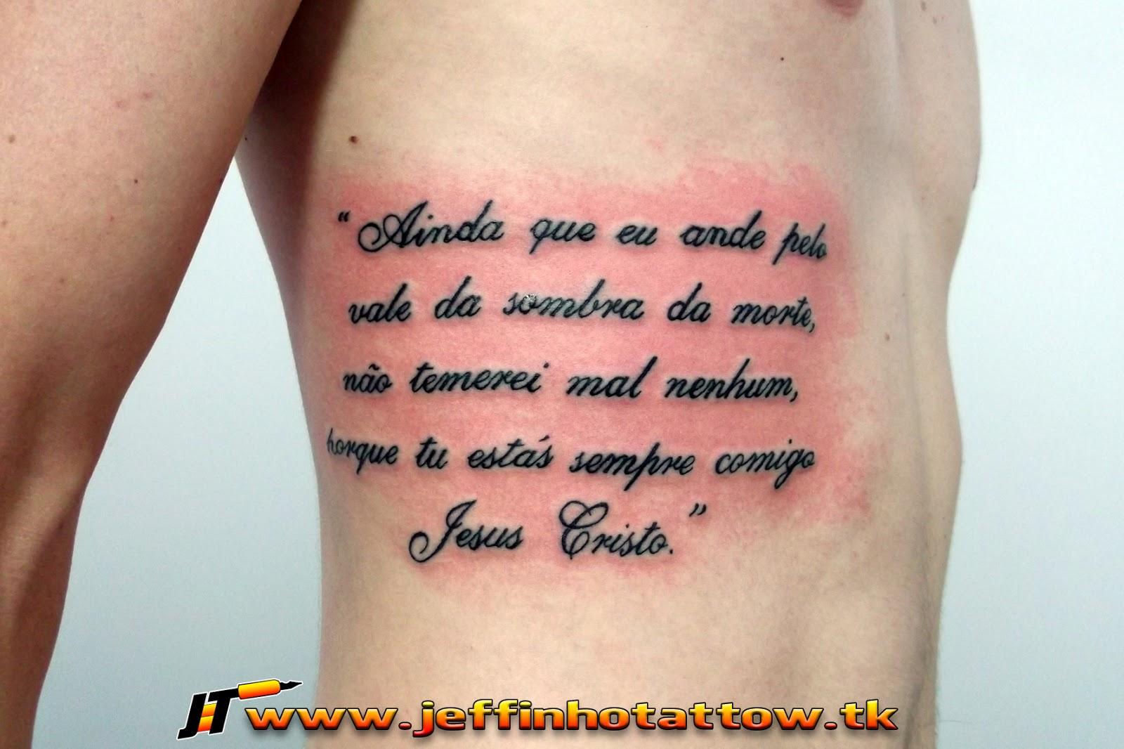 Frases Bíblicas Para Tatuagem