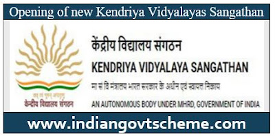 OPENING OF NEW KVs