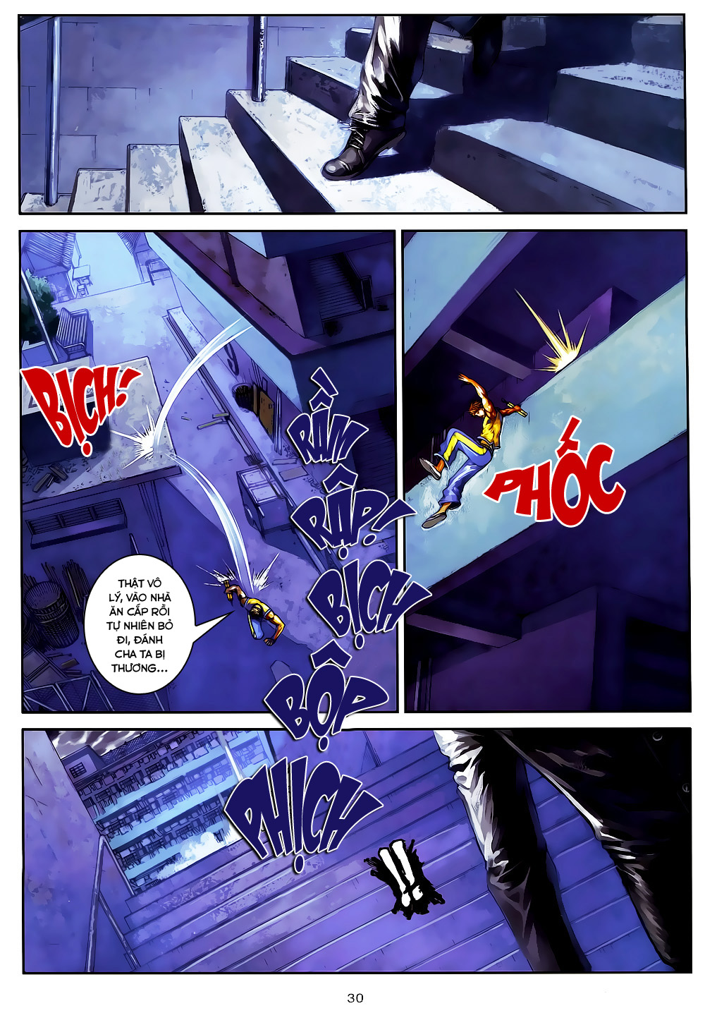 Quyền Đạo chapter 4 trang 30