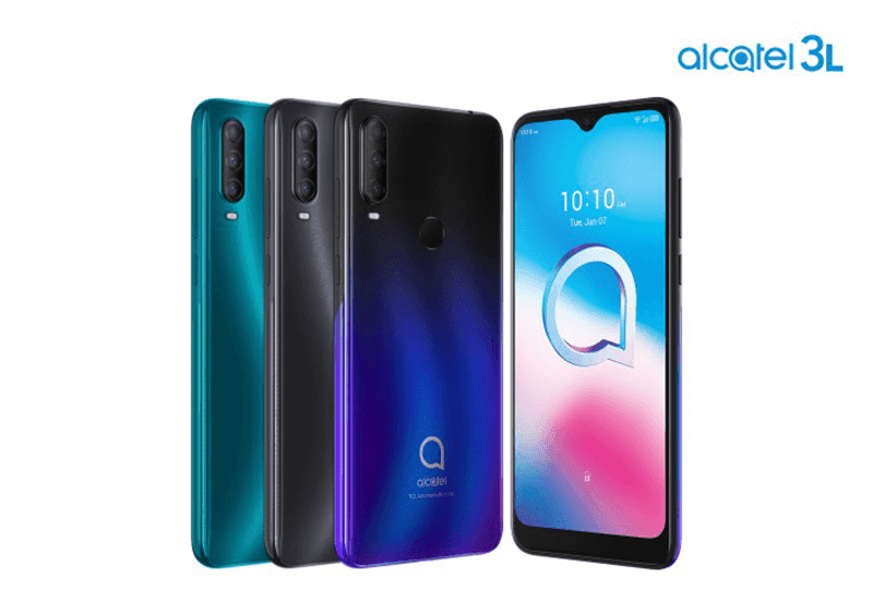 Alcatel 3L, 1S, 1V, and 1B now official