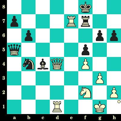 Les Blancs jouent et matent en 2 coups - Arthur Bisguier vs Fabian Geisler, New York, 1991