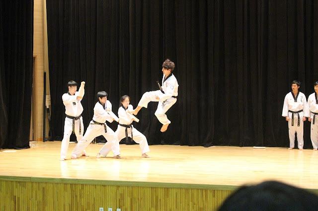 Demonstrasi Taekwondo