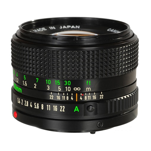 Ống kính Canon FDn 50f1.4