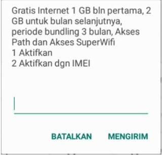 Kode Dial Kuota Gratis Indosat 2021 Seumur Hidup (Internet Selamanya)
