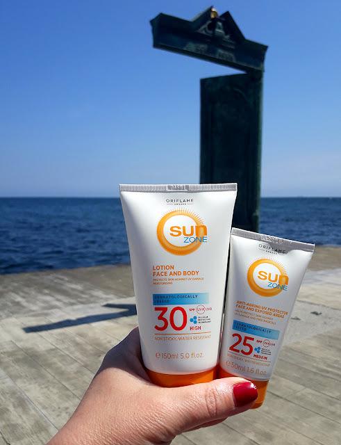 Линейка средств Sun Zone от Oriflame: солнцезащита для лица и тела