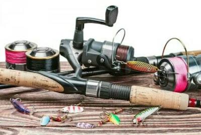 alat pancing ikan bawal