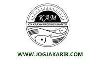 Loker Sleman Admin Kantor dan Creative Digital Marketing di CV Karya Produksi Kamto