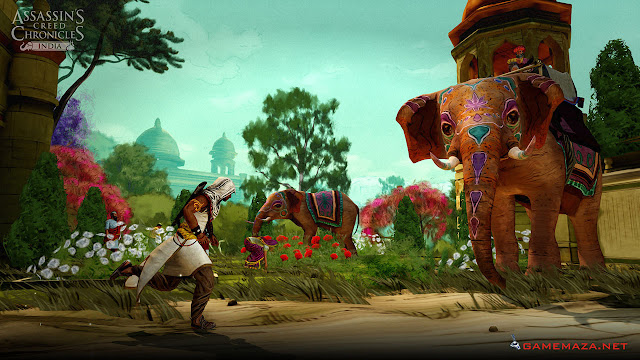 Assassin's Creed Chronicles India Gameplay Screenshot 1