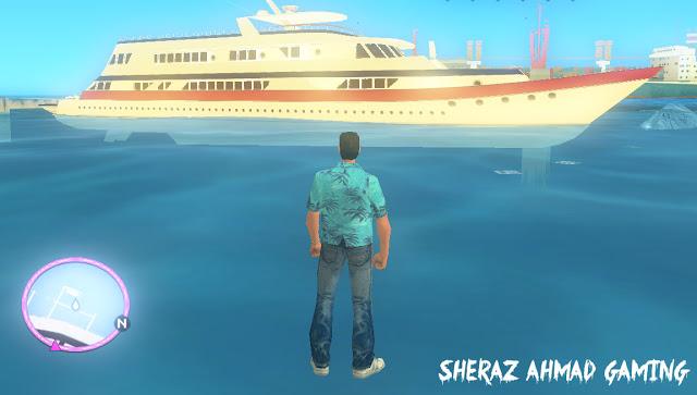 Walk On Water Mod For GTA Vice City - Sheraz Ahmad Gaming