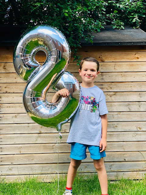 Leo turns Eight - Birthday times