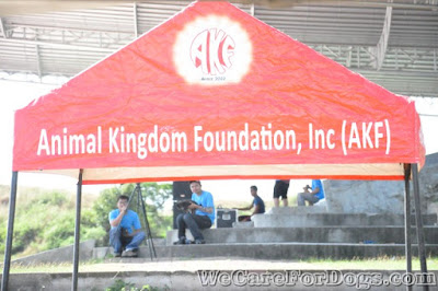 Animal Kingdom Foundation's tent - Philippine Dog Festival 2014 - December 12, 2014