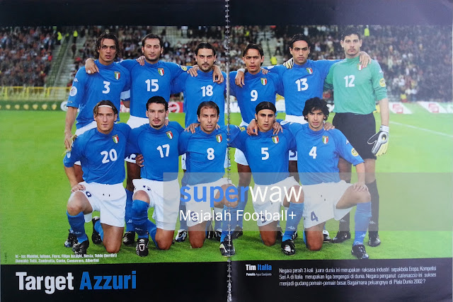 Poster Tim Azzuri Italia 2000