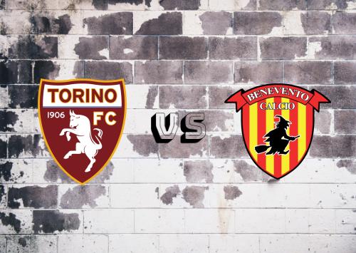 Torino vs Benevento  Resumen