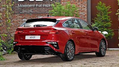 كيا 2022 K3 GT Facelift