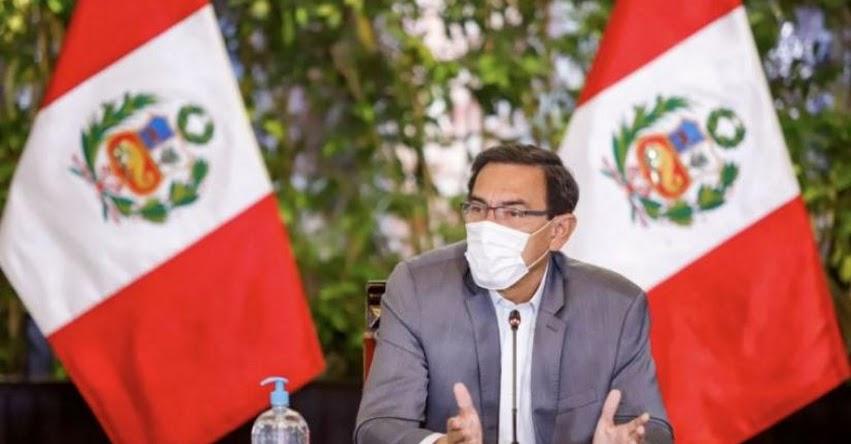 Información difundida en programa de televisión no prueba ni demuestra algo ilegal, informó el Presidente Martín Vizcarra
