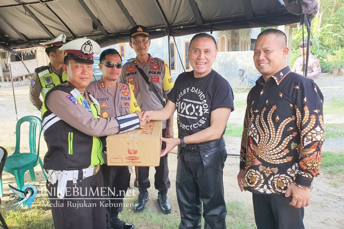 Singgah di Kebumen, Jenderal Iwan Bule Disambut Wabup dan Kapolres Kebumen