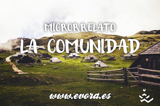 Microrrelato: La comunidad