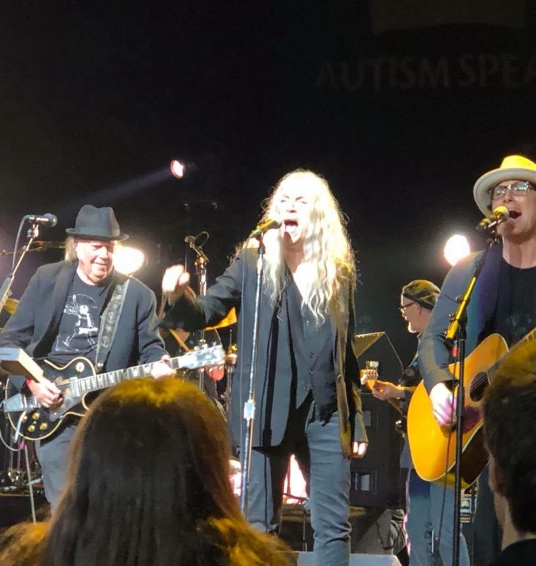 Neil Young News Review Stephen Stills Light Up The Blues Concert