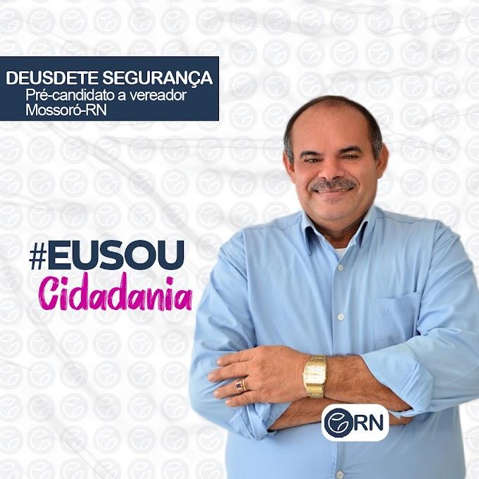 Empresário de segurança privada Deusdete Leite lança pré-candidatura a vereador pelo Cidadania de Mossoró