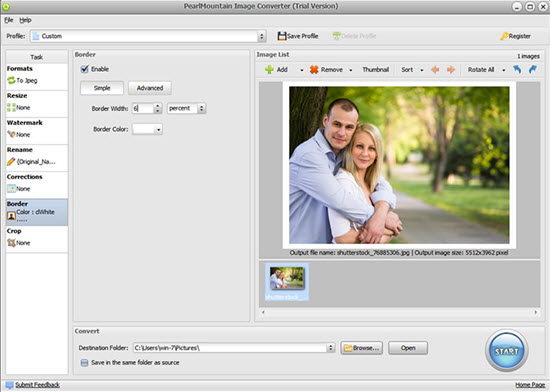 Download PearlMountain Image Converter Software Free