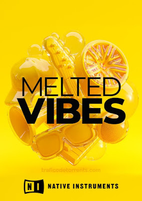 Cover Box da Library Native Instruments - Melted Vibes (KONTAKT)