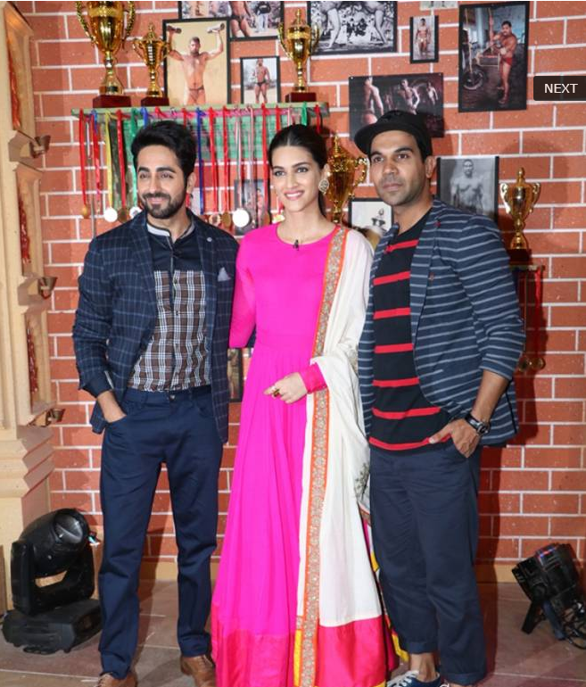 Promotion of Movie Bareilly Ki Barfi on TV show 'Comedy Dangal'