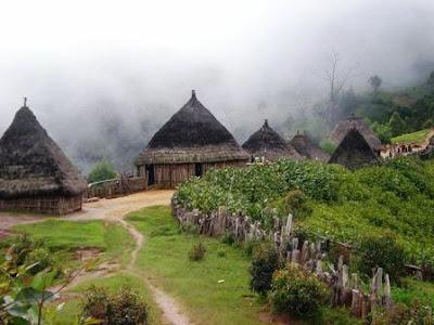 Abitazioni tradizionali Timor Est