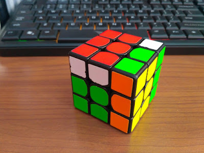 DNF Did not finish rubik's cube solving