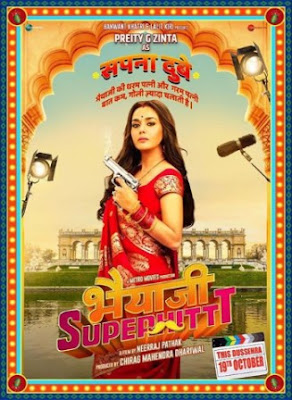 #instamag-preity-zinta-is-back-check-out-first-look-from-bhaiaji-superhit