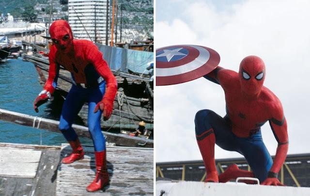 antes y despues superheroes