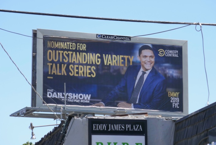 Trevor Noah 2019 Emmy nominee billboard