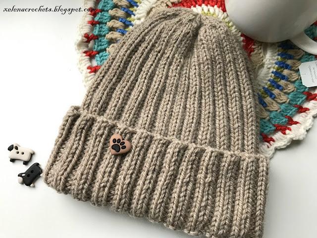 шапка из Drops Nepal