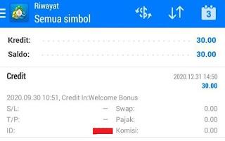 Bonus Forex Tanpa Deposit ClubFX $30