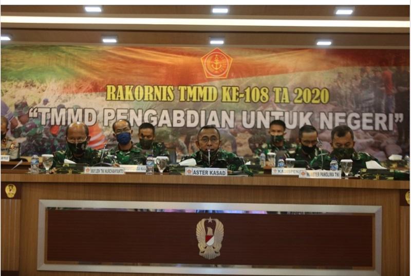 Rakornis TMMD ke-108 Pengabdian Untuk Negeri