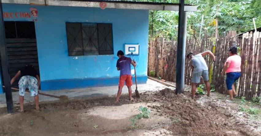 MINEDU contribuye con colegios afectados por las lluvias en Piura y Tumbes