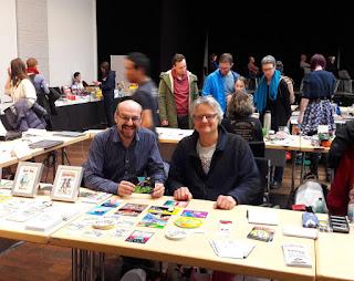 MirRoy und Gerry Lagler auf der NEXTCOMIC Linz 2018
