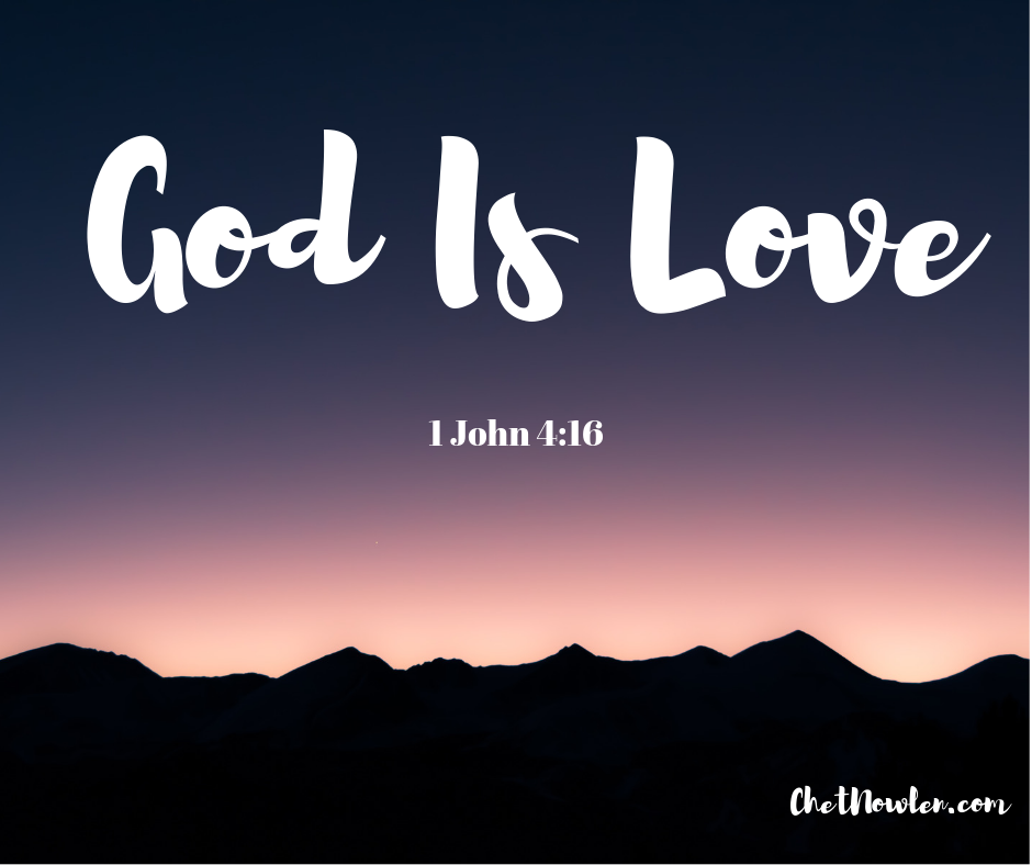 """God Is Love: """"Well Done"""": God Is Love"""