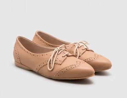 Adorable ProjectsLidea Light Brown Flatshoes