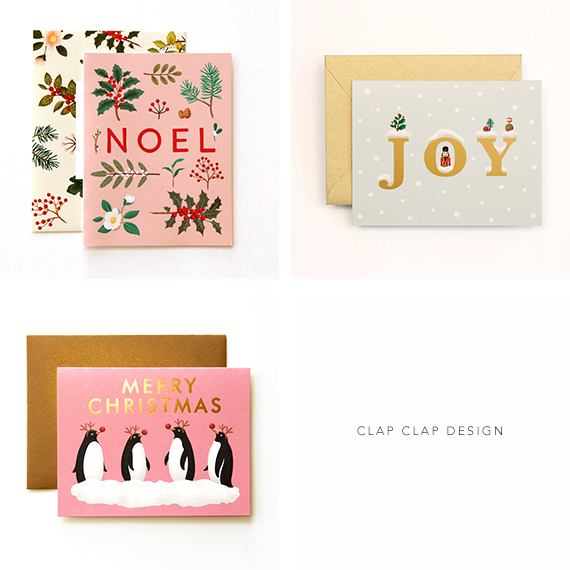 Christmas Cards from Clap Clap Design